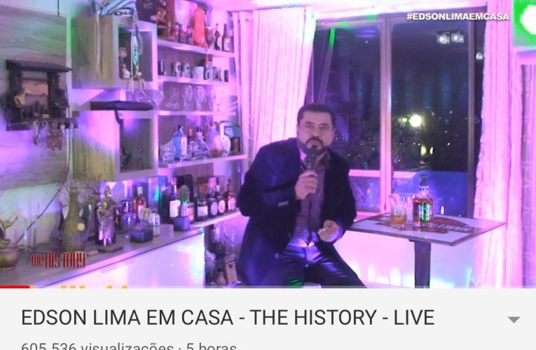 Cantor Edson Lima Atrai Mais De Meio Milhão De Espectadores Durante Live No YouTube Na Noite De Quinta-Feira (2)