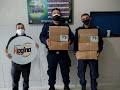 Pole Alimentos doa máscaras a profissionais de saúde e moradores de Maracanaú