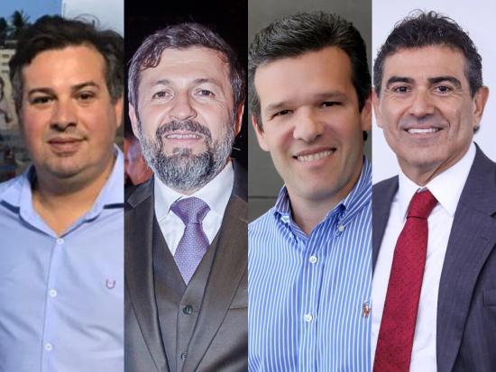 Sucessão municipal de Fortaleza tem Grandes nomes: Elcio Batista, Ferruccio, Alexandre e Samuel Dias