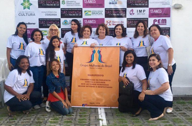 Grupo Mulheres do Brasil – Núcleo Fortaleza distribui cestas básicas para famílias em situação de vulnerabilidade