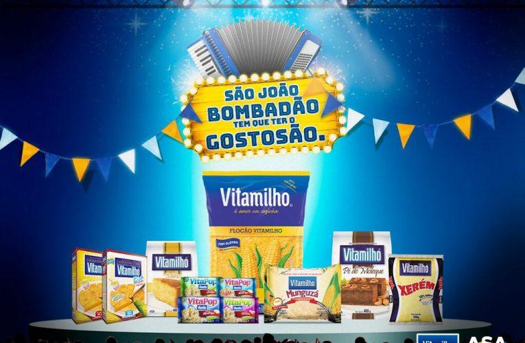 """Vitamilho promove o """"São João Bombadão"""""""