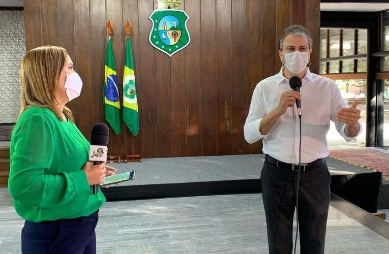 Camilo Santana em entrevista ao Bom dia Ceará destacou o avanço de Fortaleza para a 4ª fase