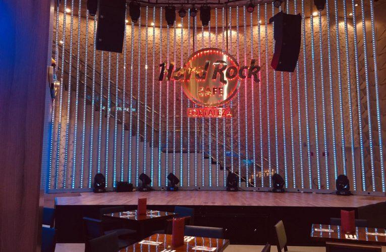 Hard Rock Cafe Fortaleza reabre em período noturno a partir desta segunda-feira (20)