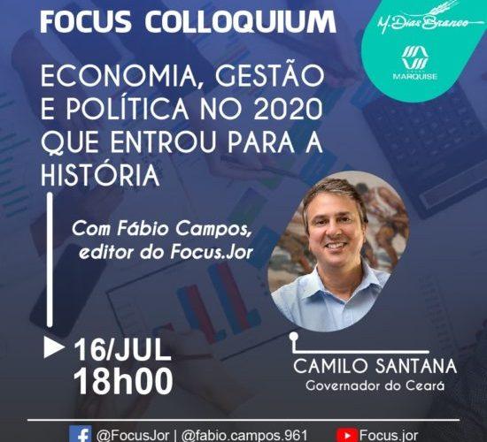 Focus Colloquium: Camilo fala de economia, gestão e política no 2020 que entrou para a História