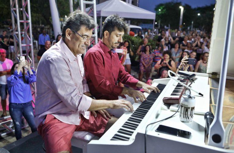 Live – Concerto musical com Felipe Adjafre e Alexandre Pereira