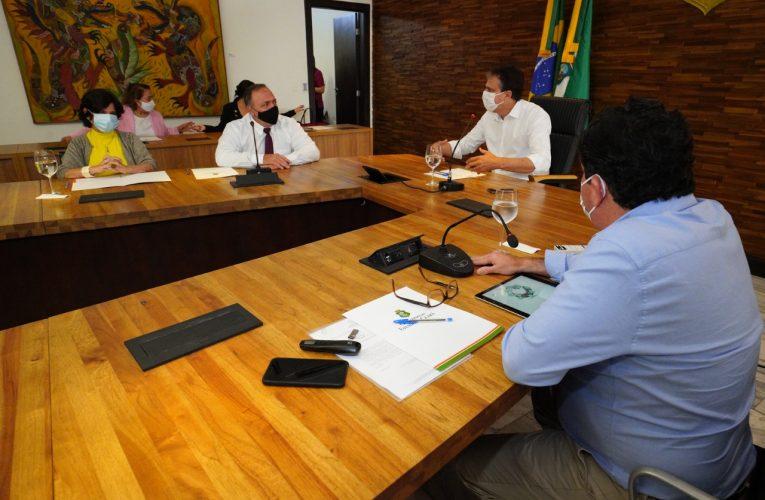 Governador se reúne com ministro da Saúde e apresenta ações do Ceará na área