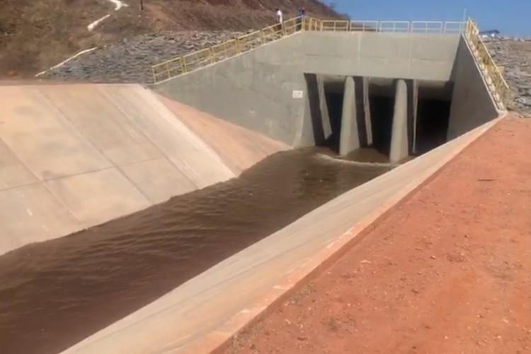 Águas do São Francisco forão liberadas para abastecer o Ceará