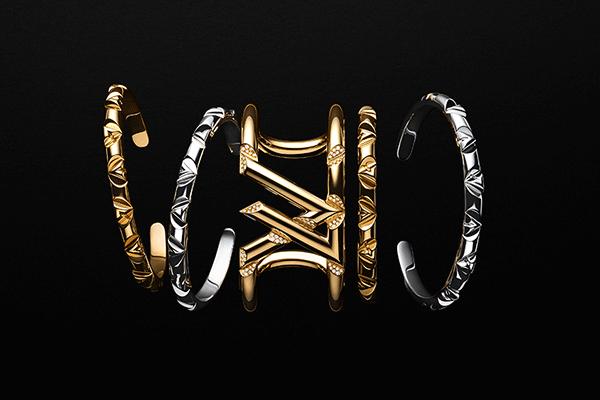 Louis Vuitton apresenta sua primeira coleção de joias unissex: LV