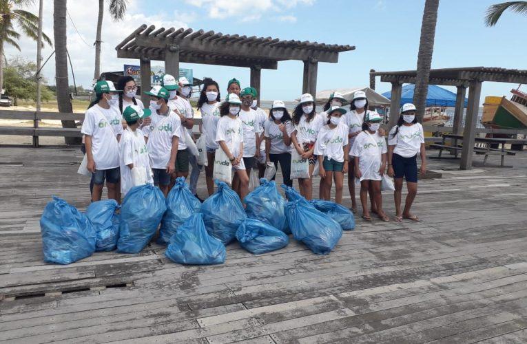 Movimento Onda Limpa promove mutirões para limpar praias de Jeri, Preá, Icaraí da Amontada e Ilha de Guajirú