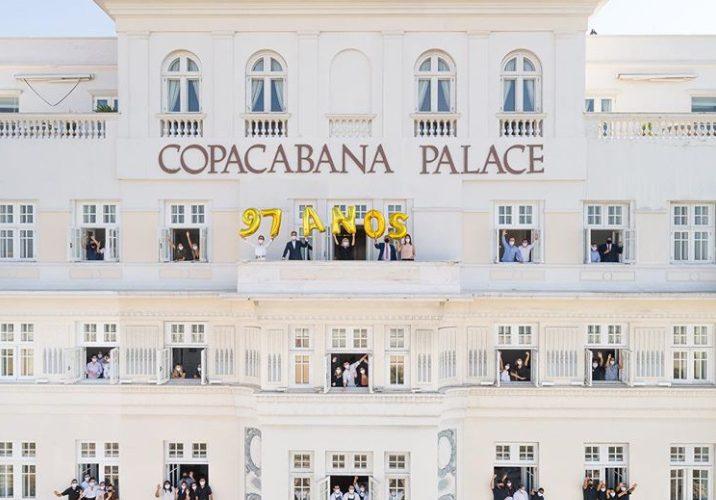 Copacabana Palace celebra 97 anos e confirma reabertura no dia 20 de agosto