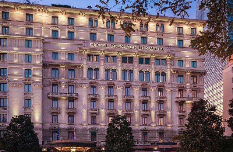 REABERTURA – Hotel Principe di Savoia anuncia que reabrirá suas portas na próxima segunda-feira, 31.