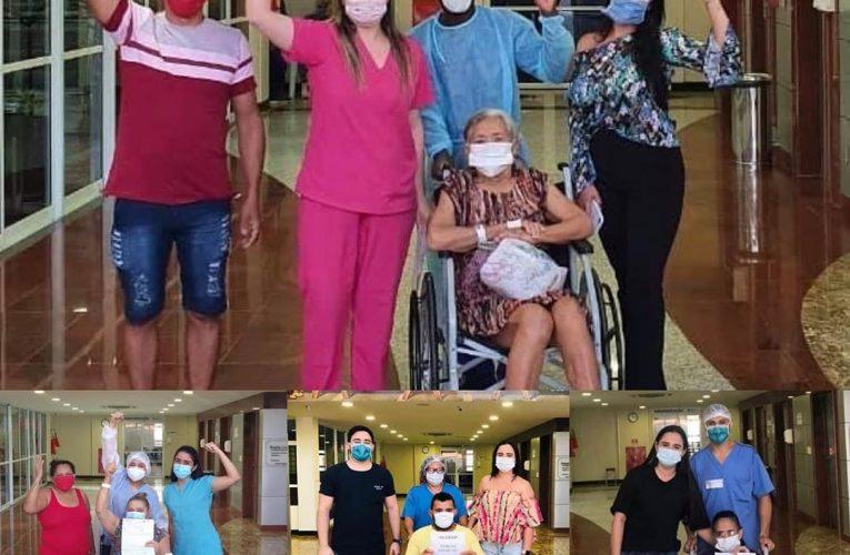 200 mil pacientes recuperados da Covid no Ceará.