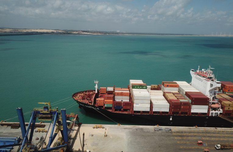 Linha para o mediterrâneo recomeça a operar no Porto do Pecém