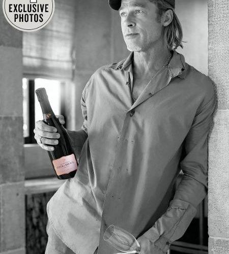 [Hollywood] – Brad Pitt lança champanhe produzido na França