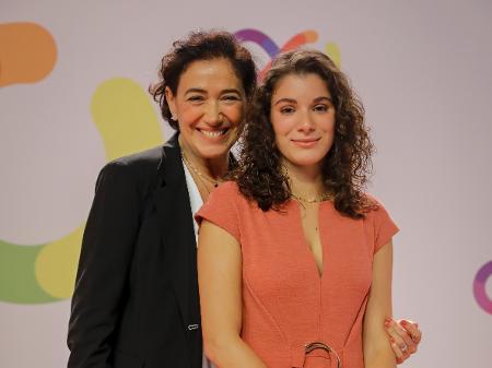 [Novo normal] Pela primeira vez juntas,Lilia CabraleGiulia Bertolli, mãe e filha  fazem peça juntas