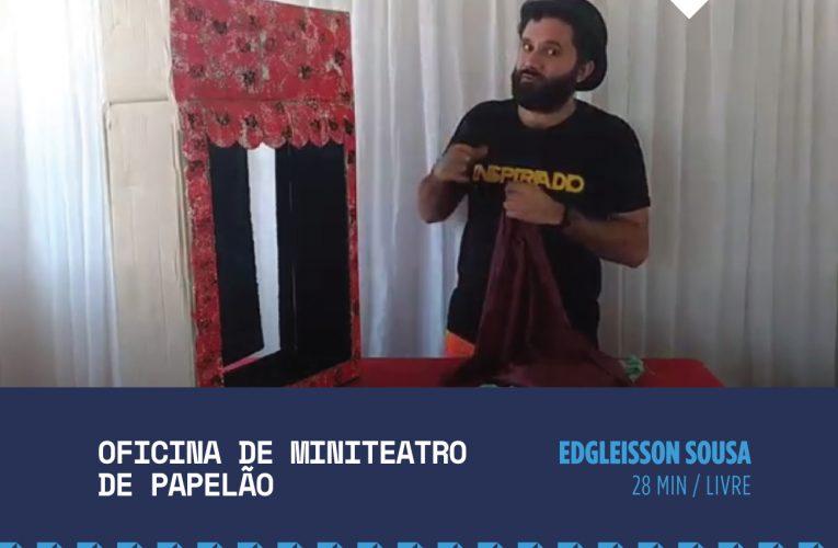 Dragão do Mar exibe oficina de miniteatro de papelão neste domingo (13)
