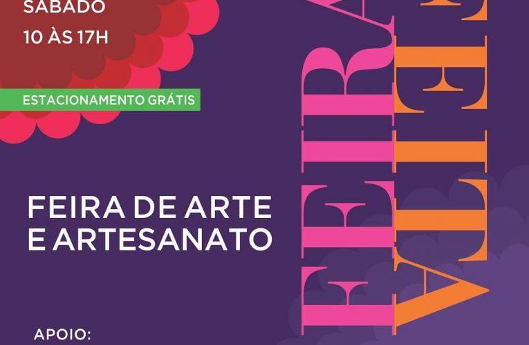 FEIRAFEITA -Feira de Arte e Artesanato, começa proximo sábado(03)