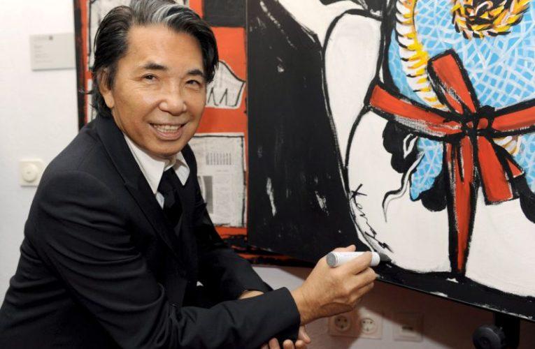Morre o estilista japonês Kenzo Takada após complicações do novo coronavírus