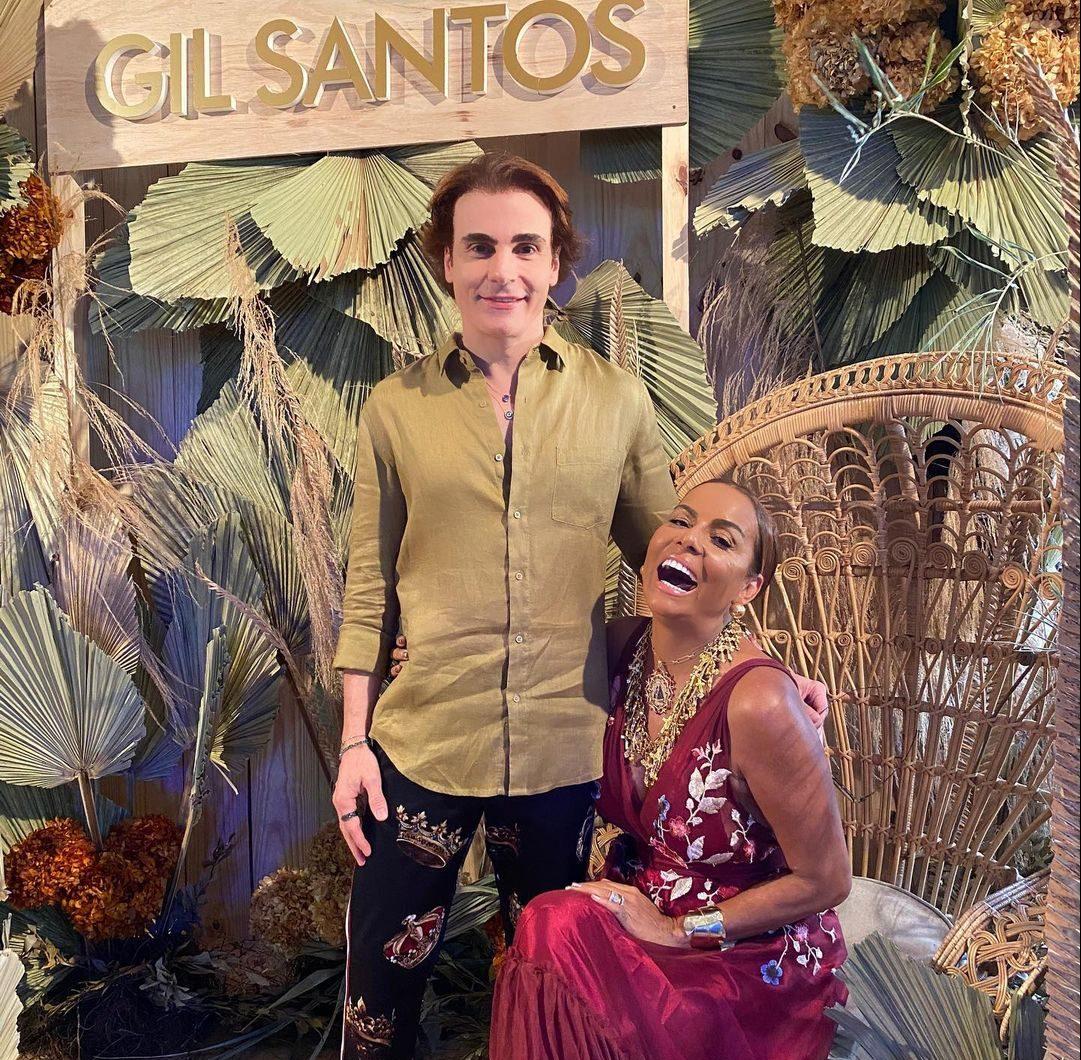Rodrigo Maia e Gil Santos