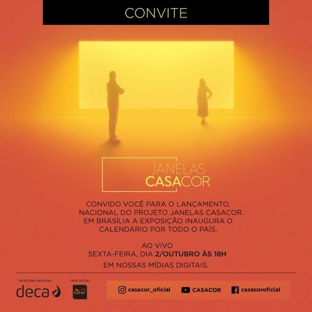 Lançamento| Projeto Janelas CASACOR Ce