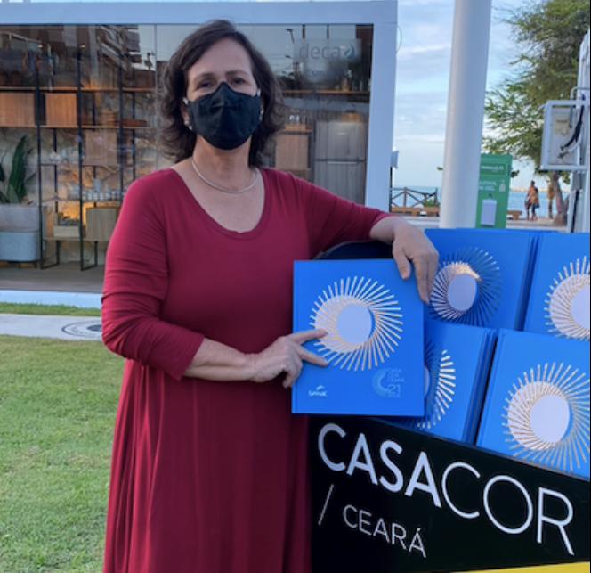 Neuma Figueirêdo acaba de lançar livro em comemoração aos 21 anos da CASACOR Ceará