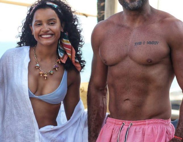 Cirurgião Plástico Eduardo Nunes aproveitou dias de sol em Trancoso, na Bahia