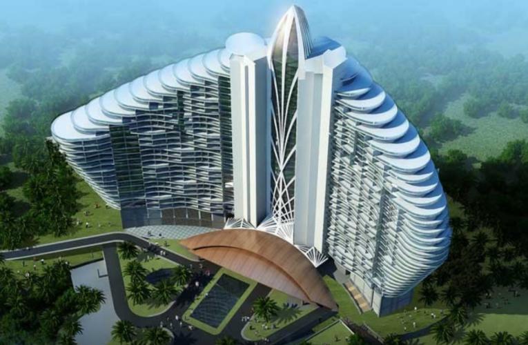 Novo Fairmont na China possui o primeiro canal de água salgada do mundo dentro de um hotel