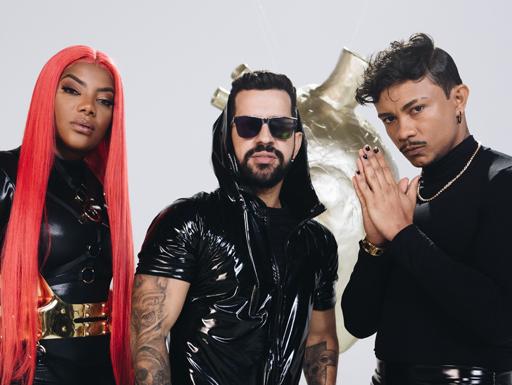 Parceria musical entre Dennis DJ, Ludmilla e Xamã promete agitar o público