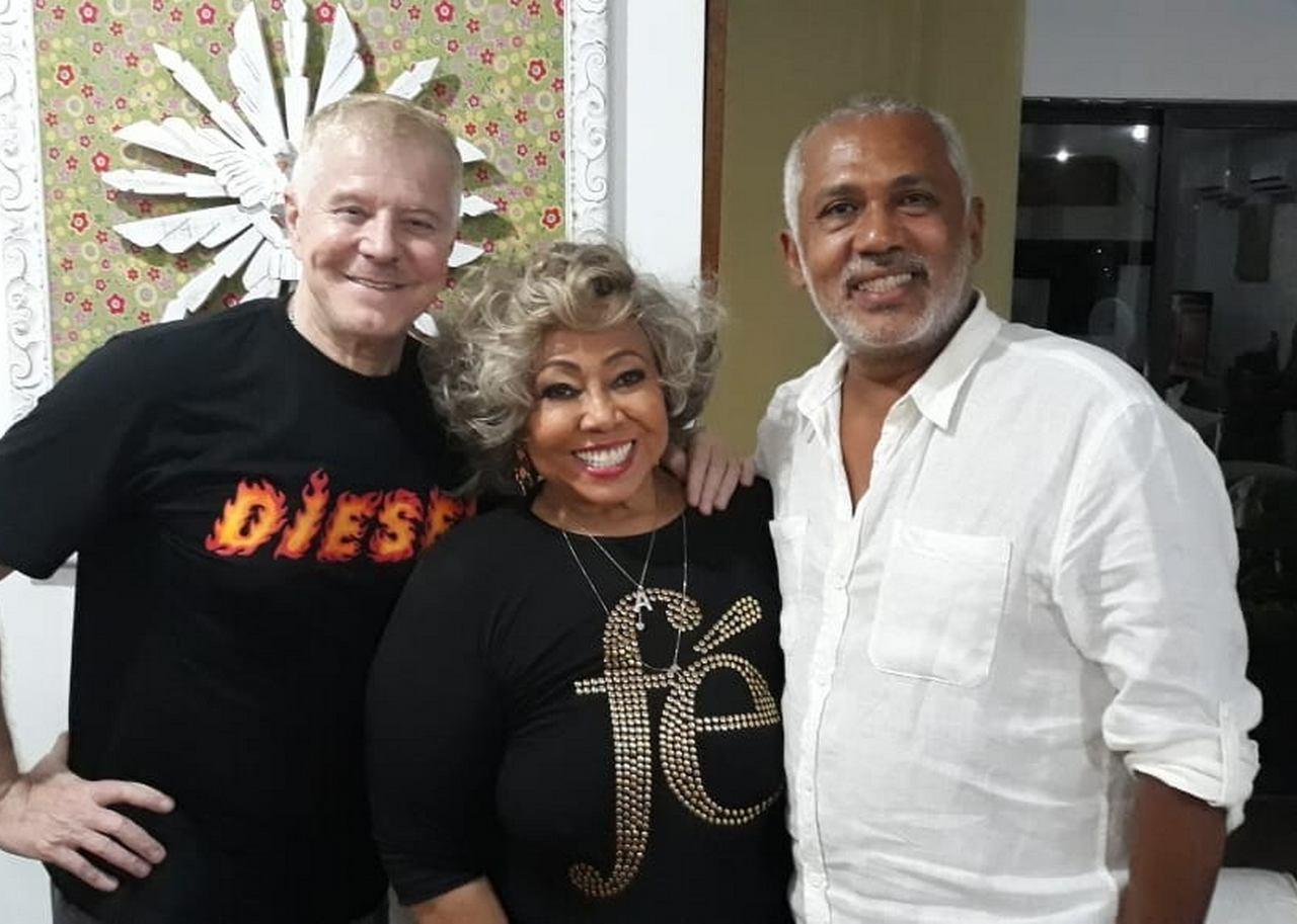 """Miguel Falabella e Jô Santana em São Luís para agilizar o espetáculo """"Marrom – O Musical"""""""
