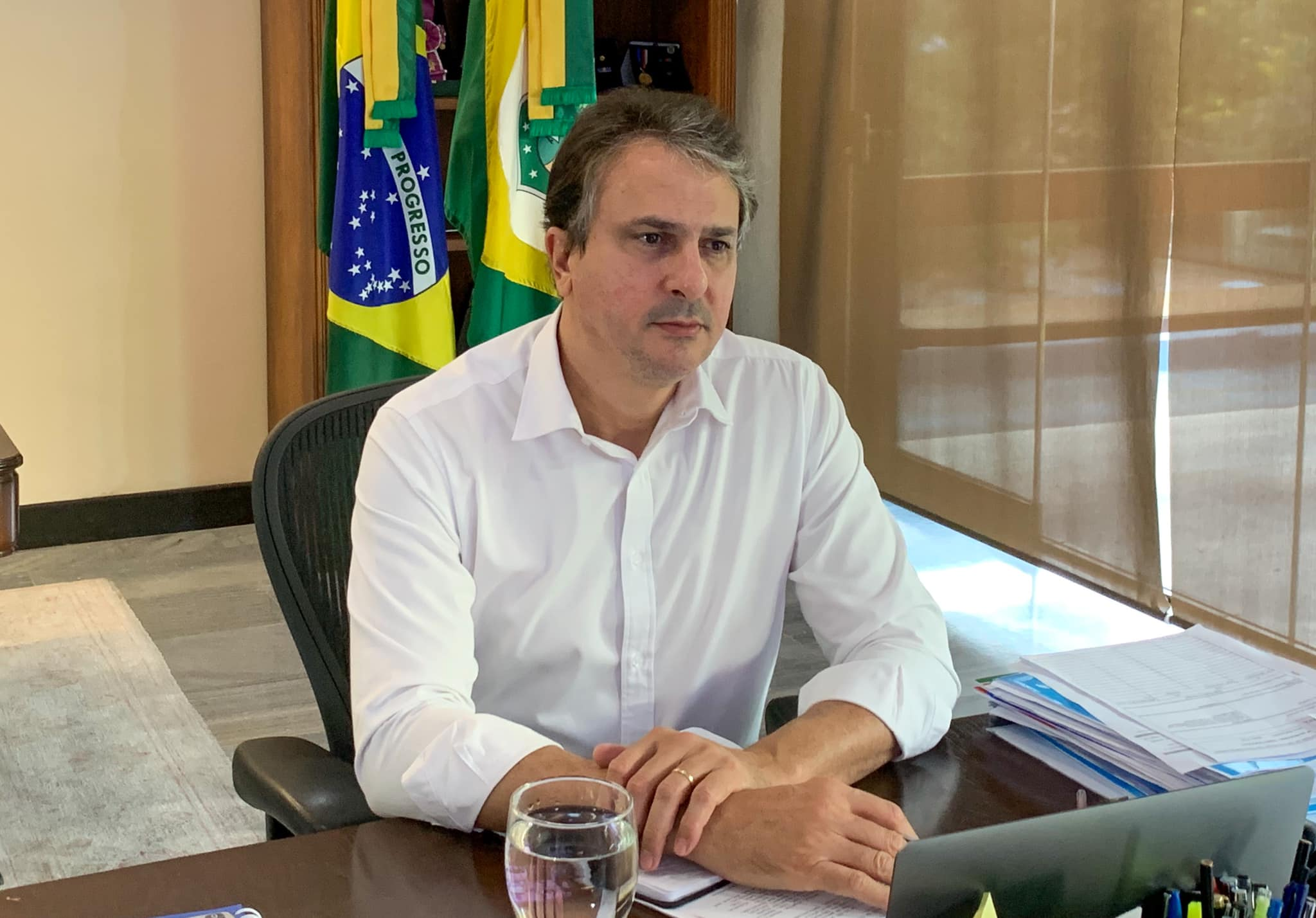 Enviado à Rússia, representante do NE tentará viabilizar liberação da Sputinik V, diz Camilo Santana