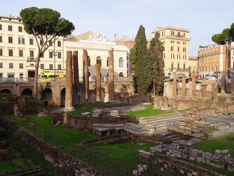 A chamada Area Sacra, no coração de Roma, vai virar um museu a céu aberto