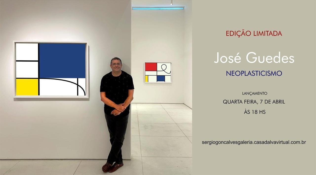 José Guedes lança logo mais a noite exposição – Neoplasticismo.