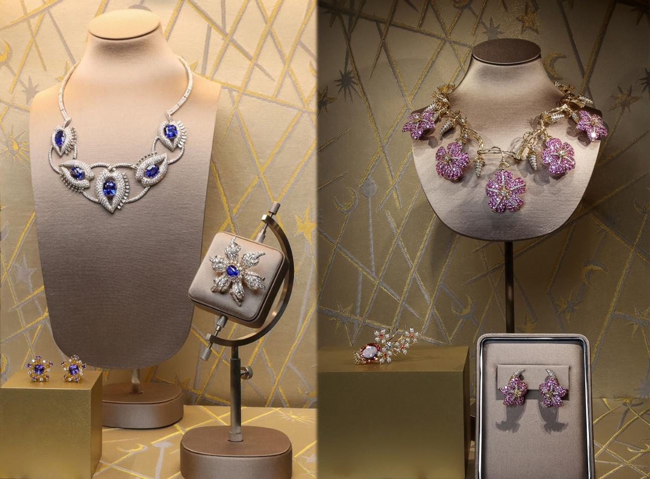 Tiffany&Co. apresenta mais de 500 designs em sua maior exibição de peças de alta joalheria na China