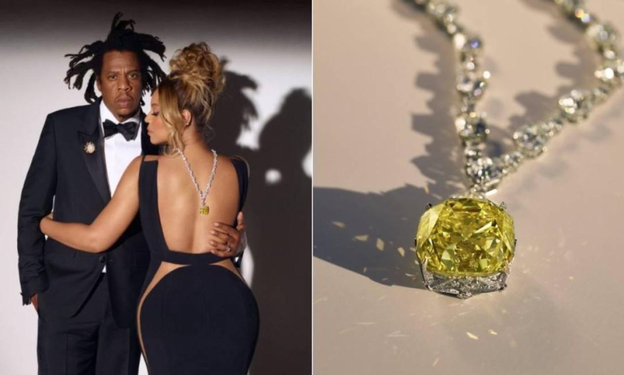 Beyoncé ostenta diamante de US$ 30 milhões em campanha da Tiffany & Co.