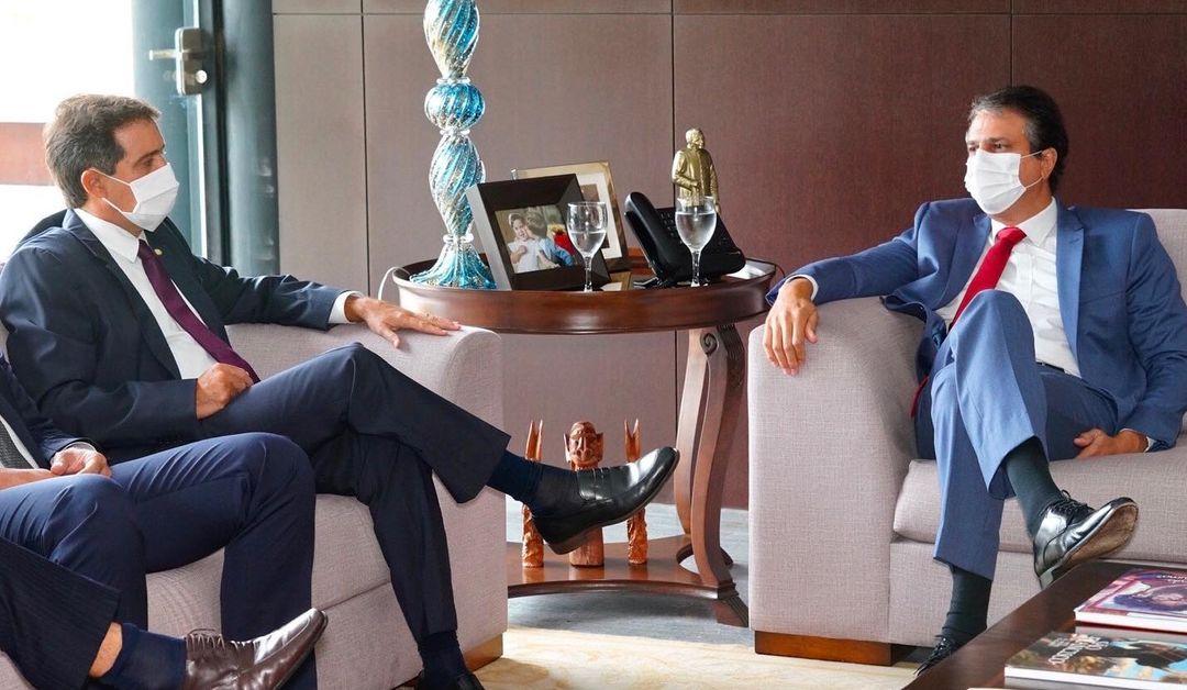 Camilo Santana e Izolda Cela cumprem agenda de negócios na Europa
