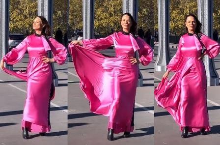 Giro parisiense| Luiza Brunet volta a modelar em Paris!