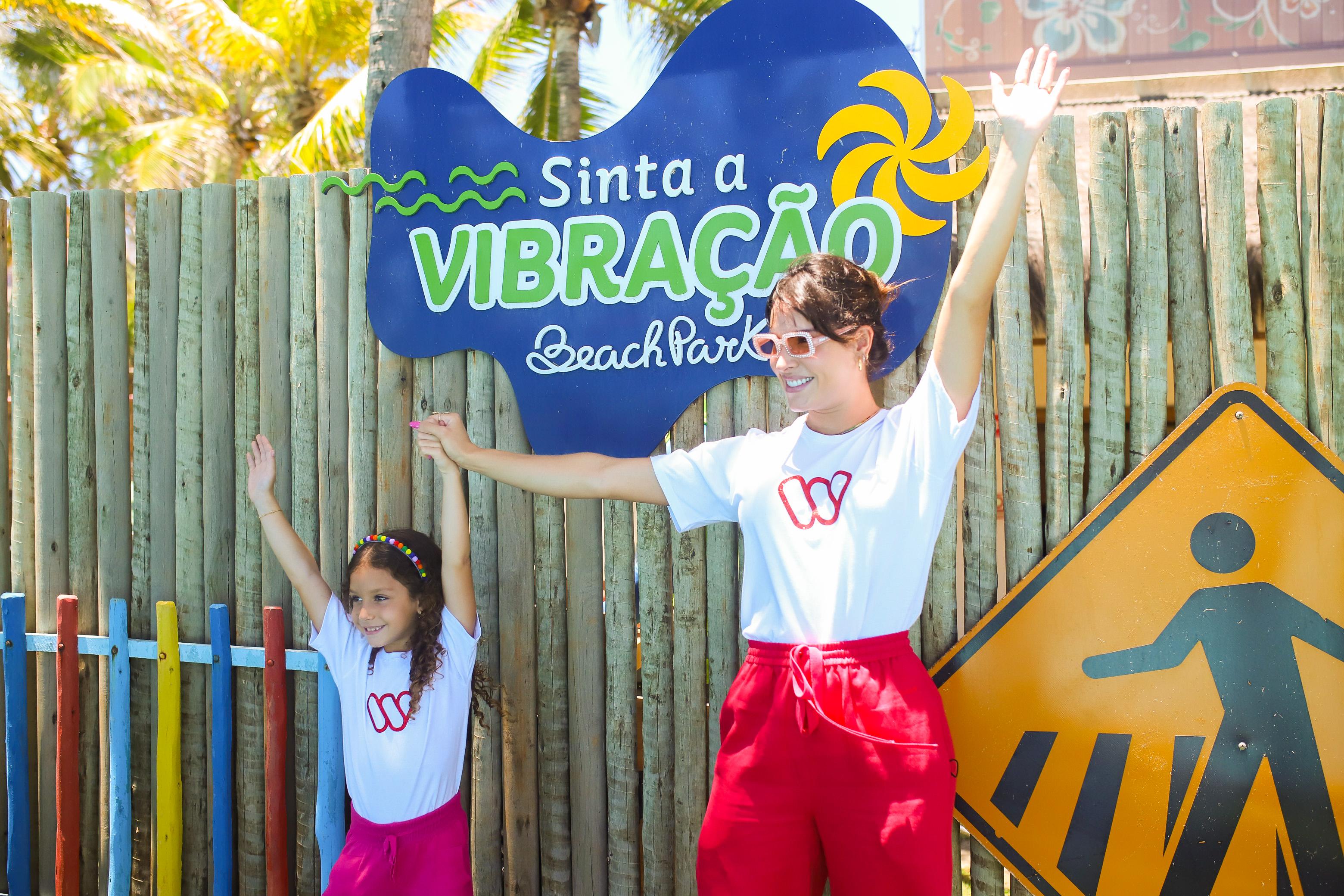 Para celebrar o mês das Crianças, projeto solidário de Wesley Safadão e Thyane Dantas faz ação especial no Beach Park