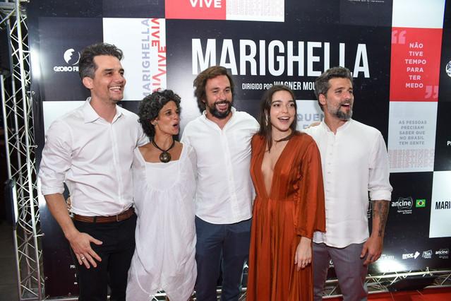 """Confira como foi a pré-estreia de """"Marighella"""" em Salvador"""